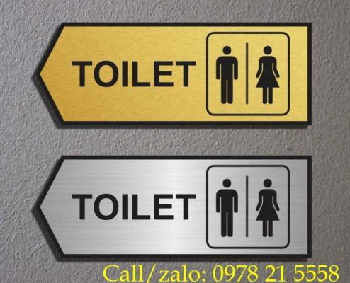 Biển nhà vệ sinh toilet